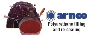 Arnco Polyurethane Filling and Re-Sealing